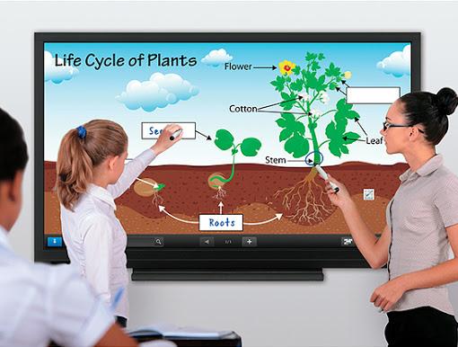 Ecrans interactifs tactiles présentation
