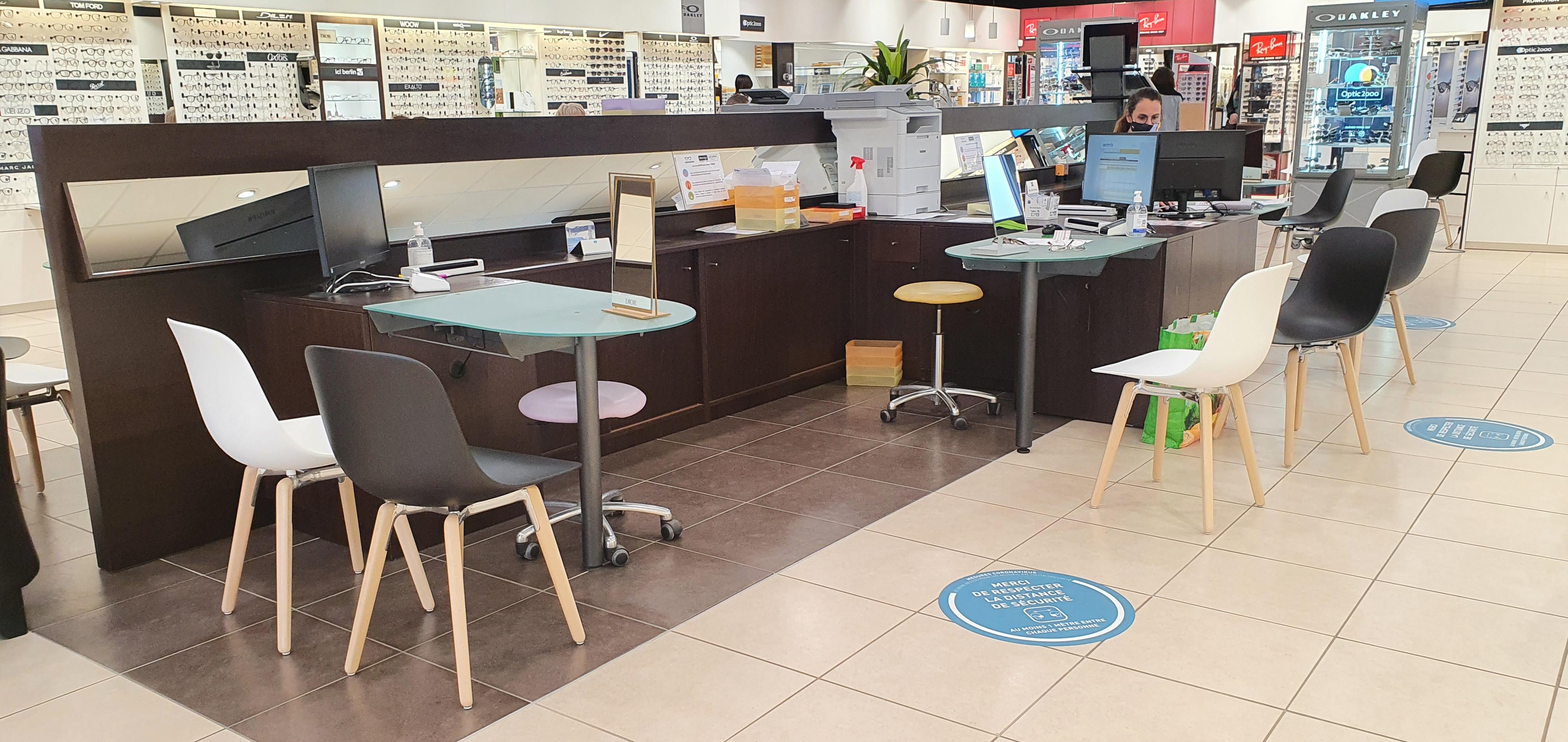 Mobilier d'espaces commerciaux